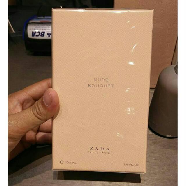 Zara Parfum Original Cashmere Rose Nude Bouquet Edp 100ml