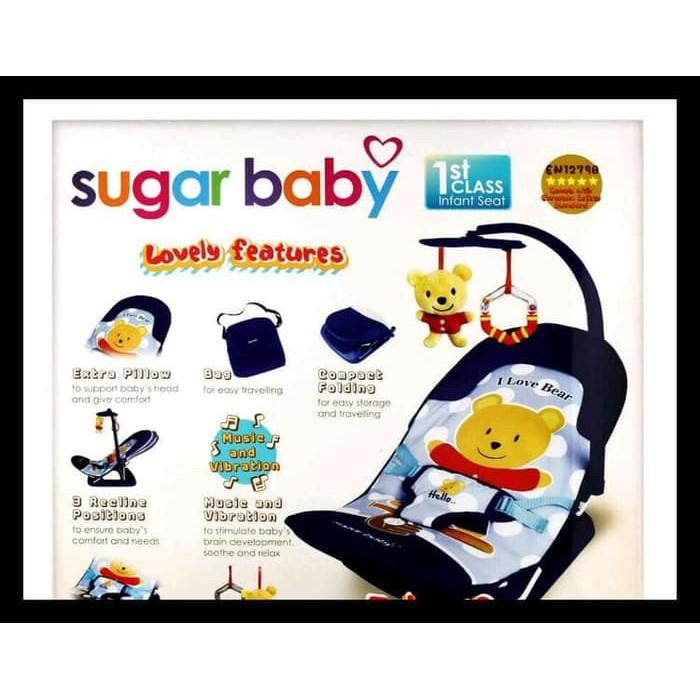 keren SUGAR BABY BOUNCER INFANT SEAT terpecaya .