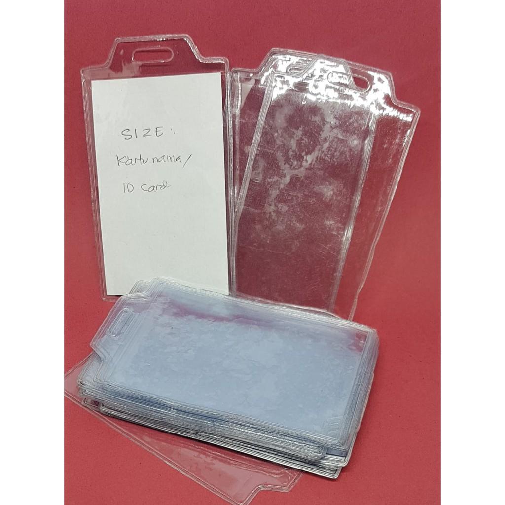 TEMPAT ID CARD PLASTIK / PLASTIK ID CARD KARTU NAMA / TALI ID CARD 6 x 9 9x6