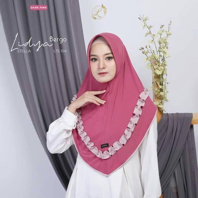 Lidya Bergo By Latisza Hijab Jilbab Murah Berkualitas Shopee Indonesia