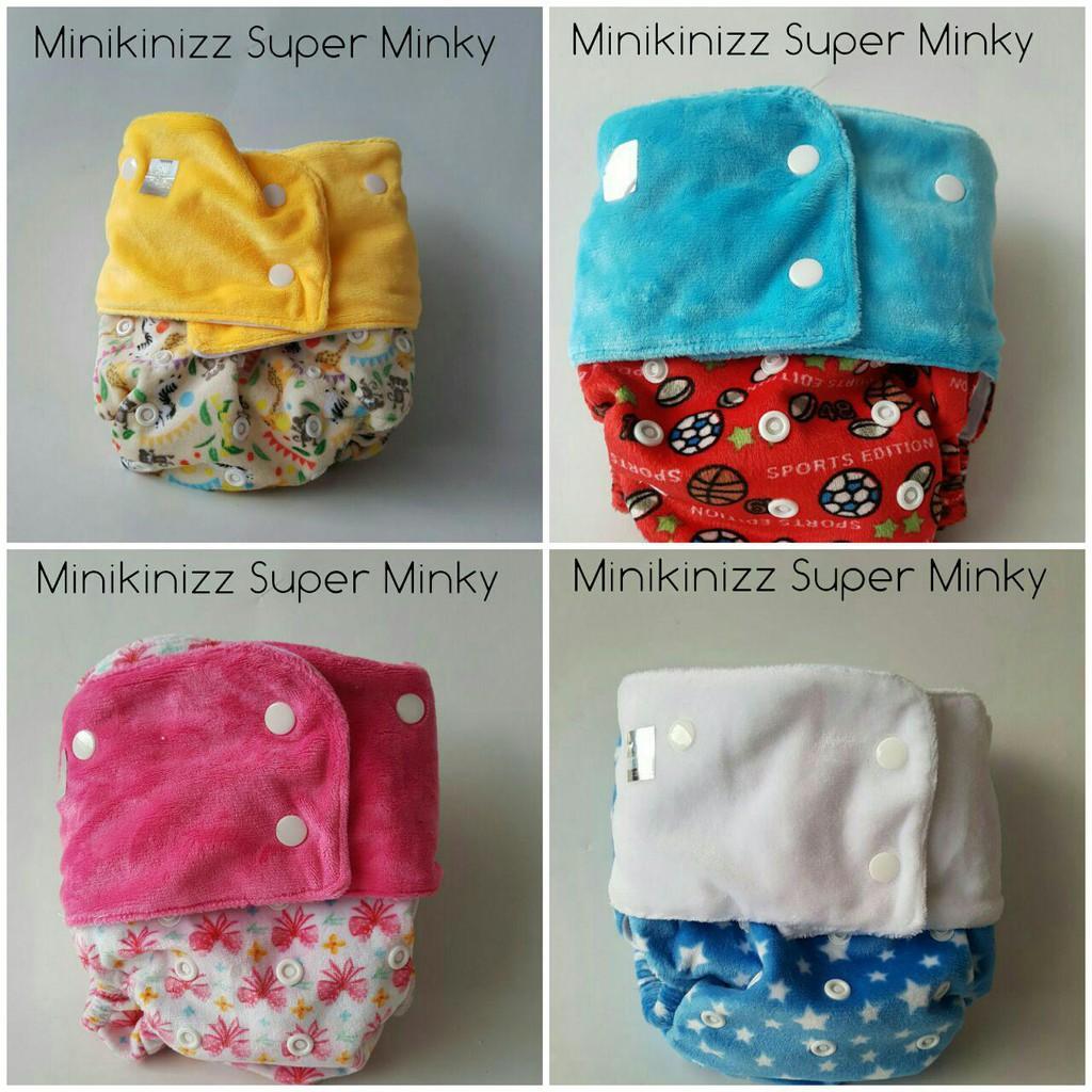 Popok Kain Clodi Cluebebe Classic Insert Shopee Indonesia Minikinizz Izzy Eco Cloth Diaper Grosir  Motif 6