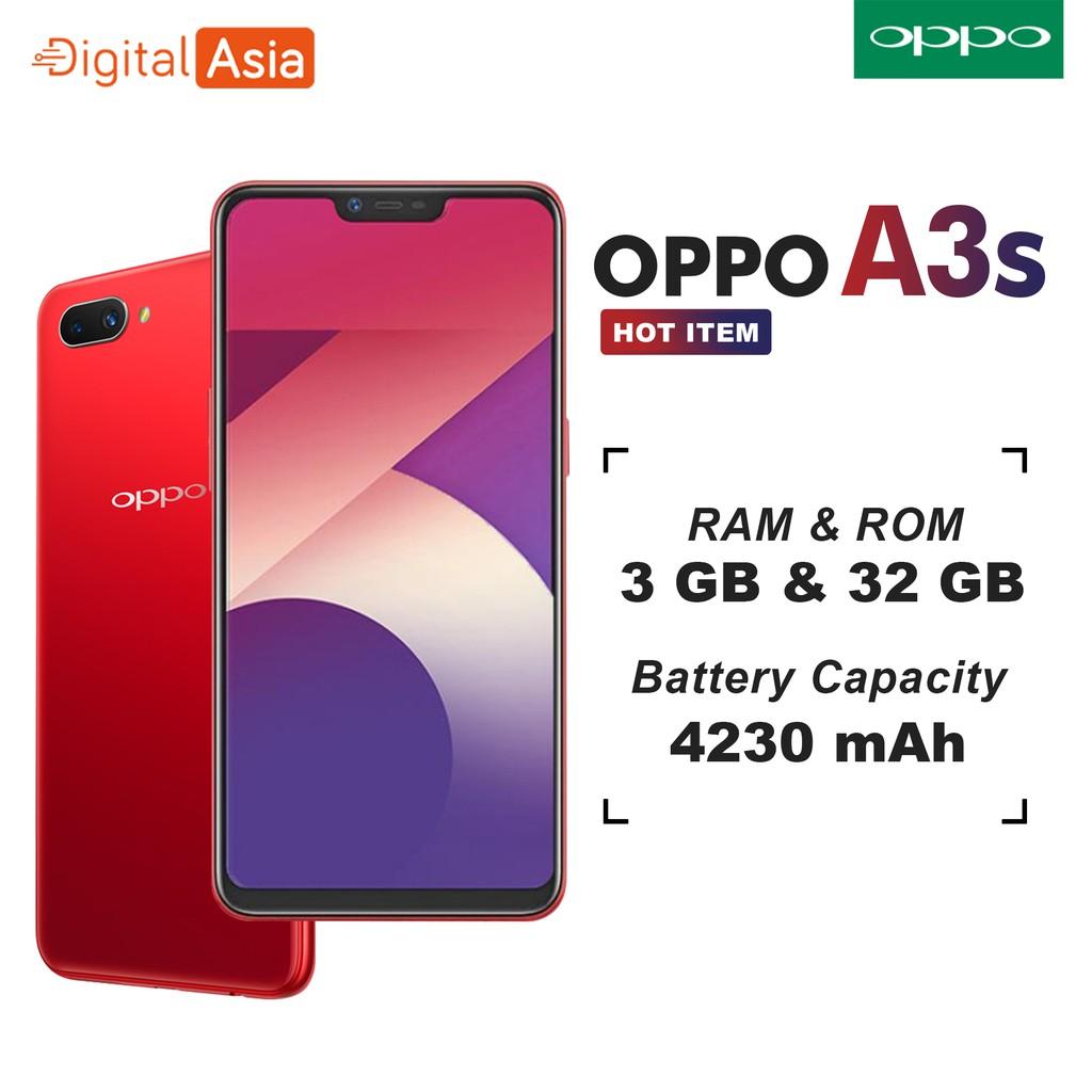 Oppo A3s 3gb Ram 32gb Internal Garansi Resmi Shopee Indonesia
