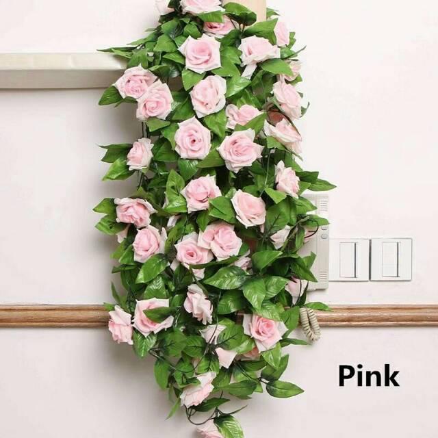 1031 Bunga Plastik Mawar  Bunga Mawar  Bunga Hias  Bunga Palsu  Bunga  Murah  Bunga Plastik  1e68526260