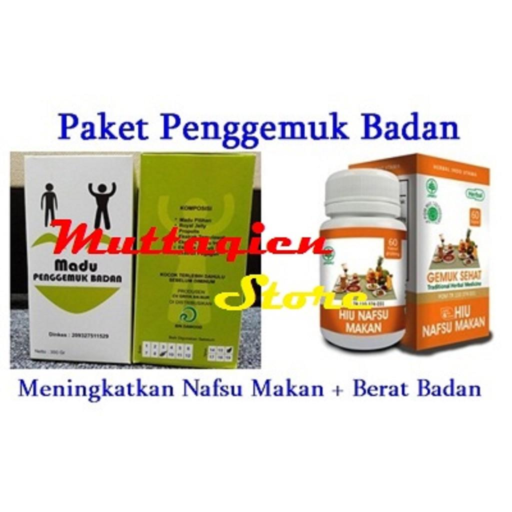 Paket Penggemuk Badan Ideal Madu Kapsul Gemuk Original Shopee Indonesia