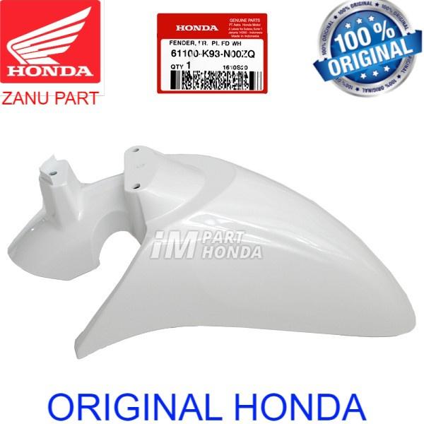 61100-K93-N00ZQ Slebor Depan Scoopy eSP LED K93 Stylish Putih Mutiara ori