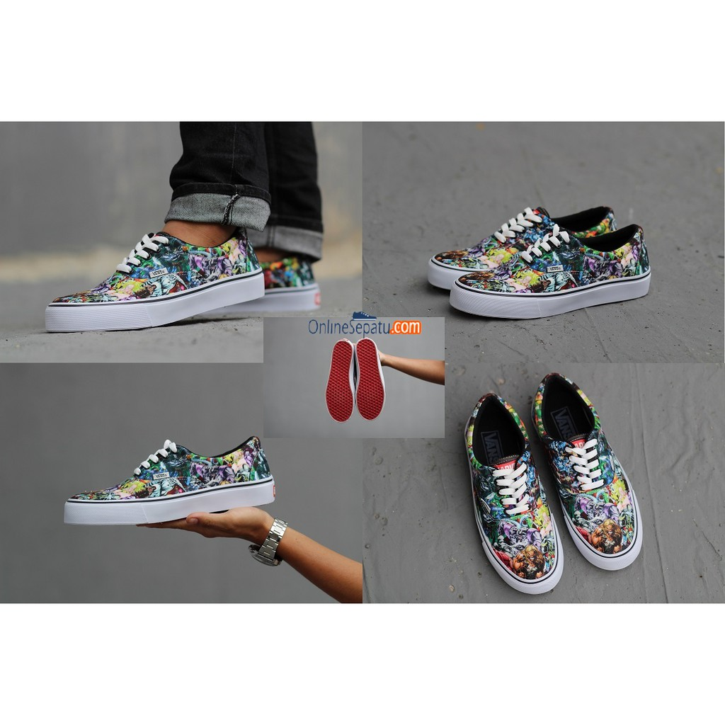 dca1397fef2c Sepatu vans pria oldskool motif batik galaxy golfwang supreme checkerboard  authentic mono era59 xmen