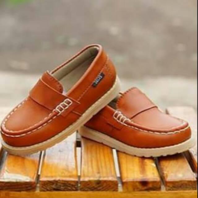 Sepatu Anak Decks Aydera Syn Coklat  bba398b241