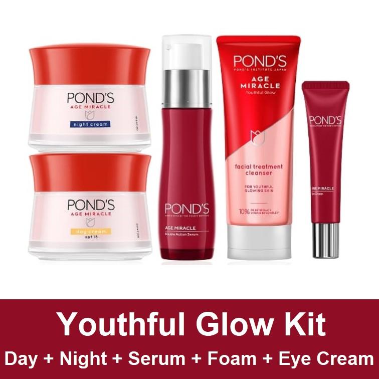 Paket Ponds Age Miracle 5 Pcs Shopee Indonesia