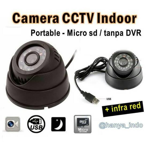 Kamera CCTV Portable Micro Sd Mmc Mudah Dipasang Indoor Tanpa Dvr | Shopee Indonesia