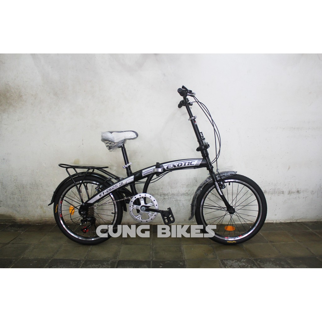 Sepeda Lipat Anak United Genio Click 16 Inci Hitam Hijau Merah Roda Bantu Samping 12 Folding Shopee Indonesia