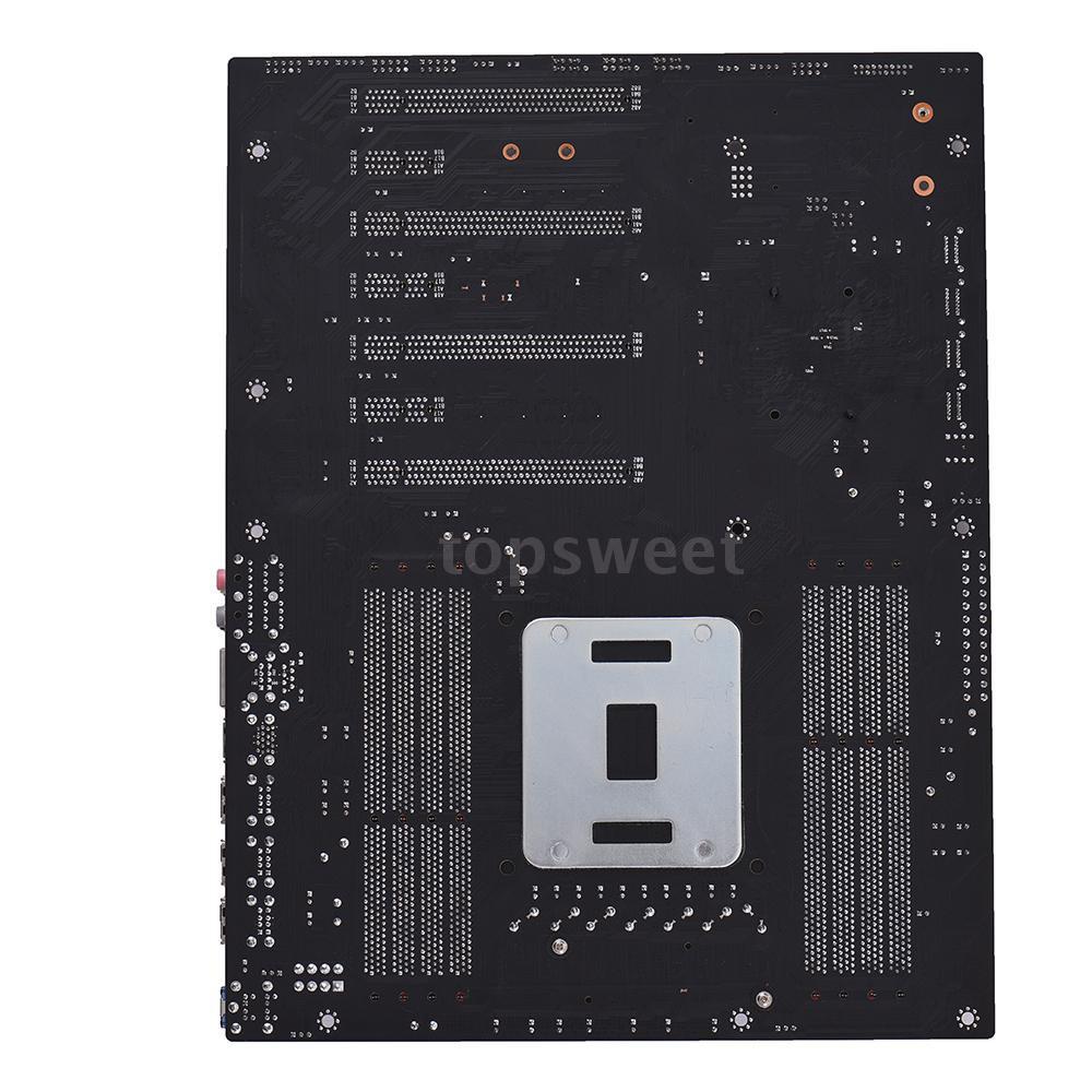 X79Z-V161 Motherboard EATX ECC LGA2011 SATA USB 3.0 DDR3 128GB for 2018 Intel PC