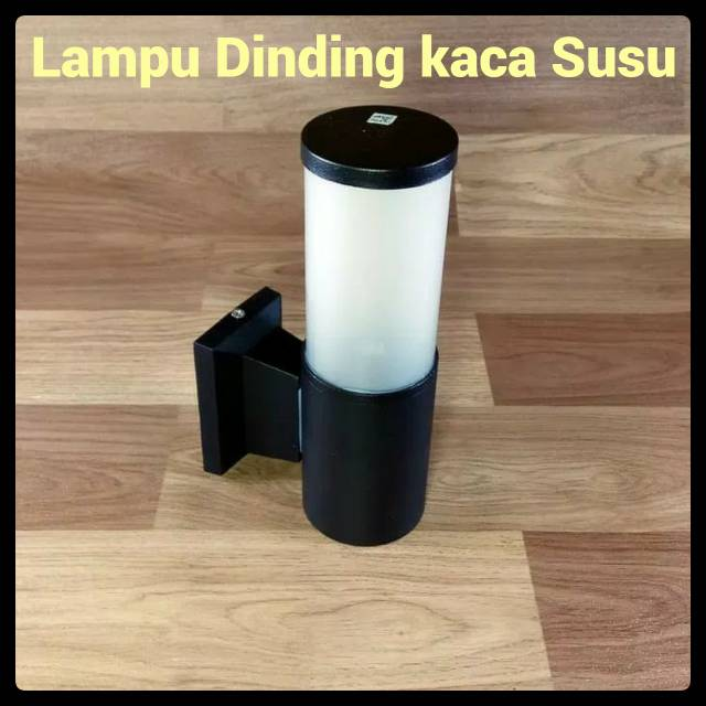 Lampu Dinding Tempel Hias Teras Pilar Taman Outdoor Minimalis Model Susu/ Dop | Shopee Indonesia