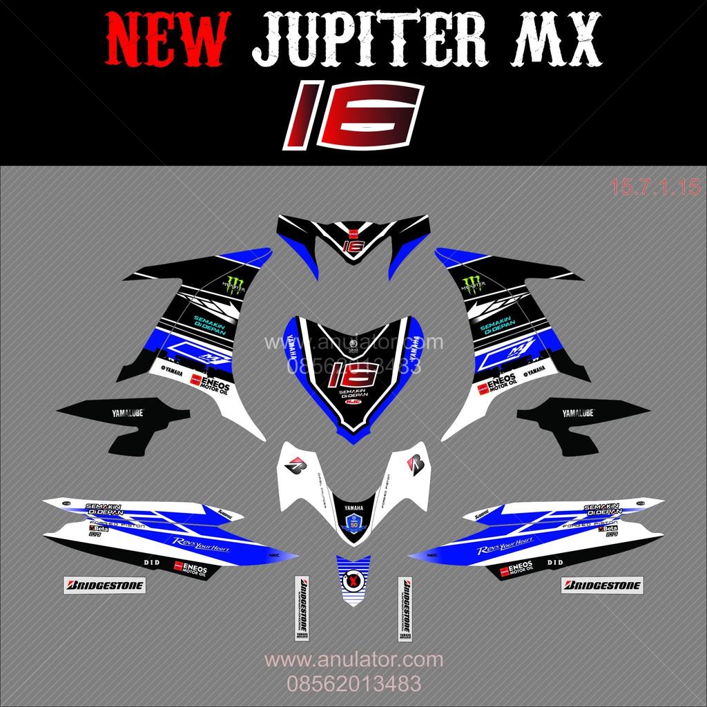 Decal stiker sticker jupiter mx new 135 03 spec a shopee indonesia