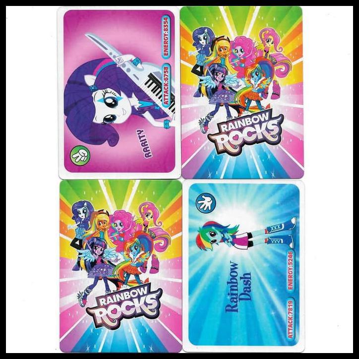 Kartu Trading Card Game My Little Pony Equestria Girls Rainbow Rocks Shopee Indonesia