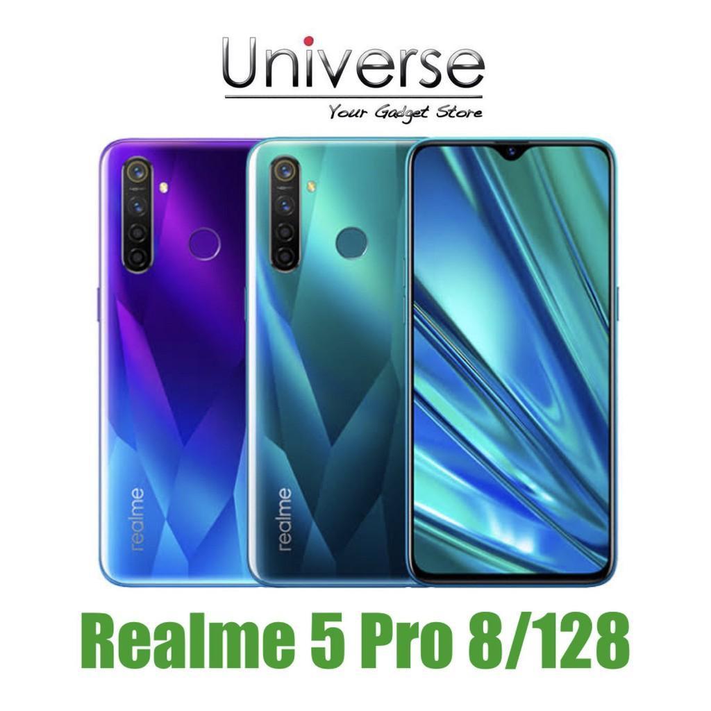 Handphone Hp Realme 5 Pro 8 128 Gb Ram 8gb Internal 128gb Garansi Resmi Realme Shopee Indonesia