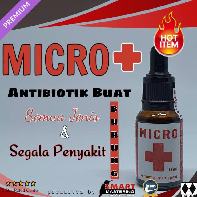 Micro Smart Mastering Antibiotik Segala Jenis Penyakit Burung Shopee Indonesia