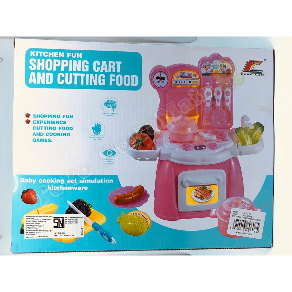 Kitchen Fun Ping Cart Vegetable