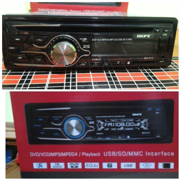 Good Seller Harga Murah Single Din Tape Mobil Audio Dvd Vcd Radio Usb Mp3 Merk Audiobank Jec Thump Shopee Indonesia