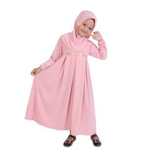 Gamis Anak Perempuan 3tahun 4tahun 5tahun 6tahun 7tahun 8tahun 9tahun 10tahun Simple Lucu Peach | Shopee Indonesia