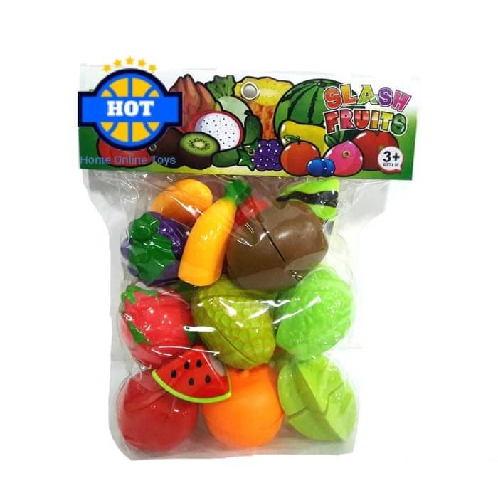 Buah Potong Mainan Masakan Sayuran Potong Cut the Fruit  6ff0d2c16d