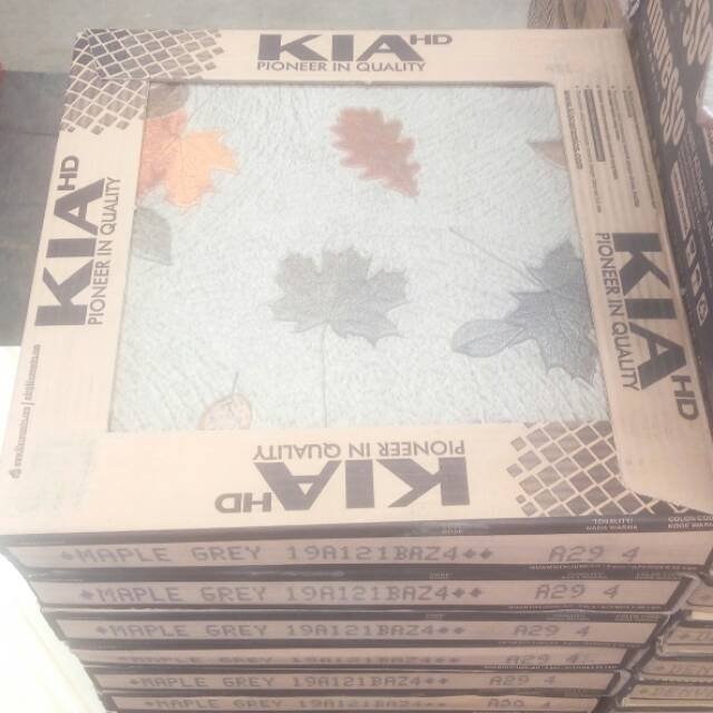 Keramik Lantai Dapur Motif Daun Kw 3 Kia 40x40 Abu2 Gratis Ongkir Shopee Indonesia