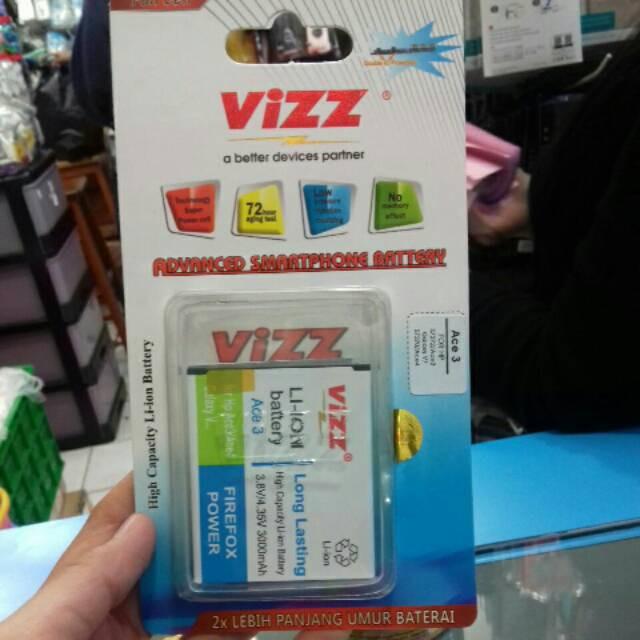 Baterai Vizz Original Double Power Samsung Galaxy Ace 3 4 S7270 S7272 S7275 G316 HP Ori