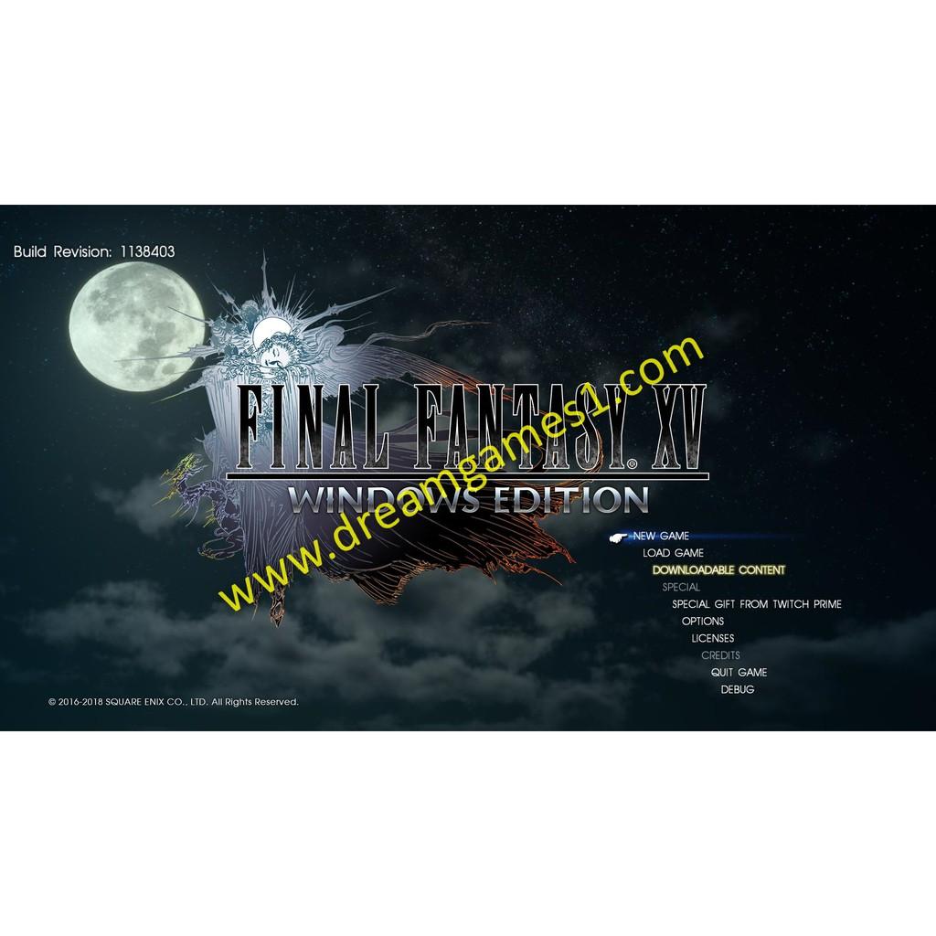 Final Fantasy XV COMPLETE EDITION | Shopee Indonesia