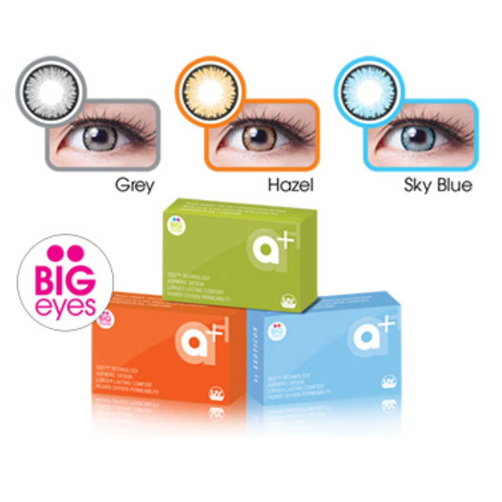 A Softlens Shopee Indonesia Diva Queen One Layer With Clear Vision