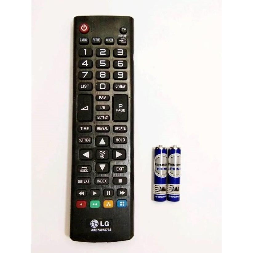 REMOT/REMOTE TV LCD/LED/PLASMA LG AKB AKB73975733 - FREE BATERAI