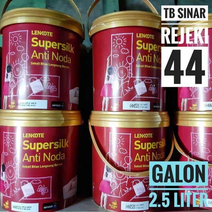 Lenkote SUPERSILK Anti Noda Galon 2.5 Liter Brilliant ...