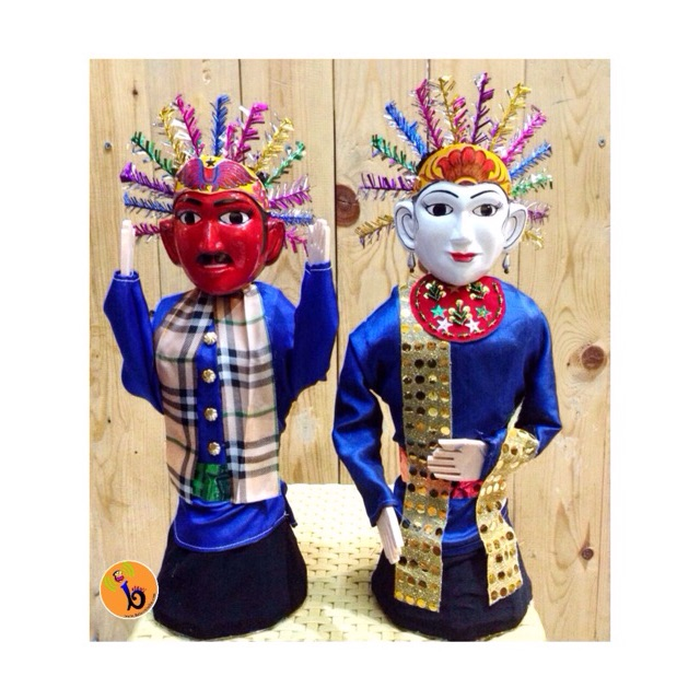 Miniatur Ondel Ondel Shopee Indonesia
