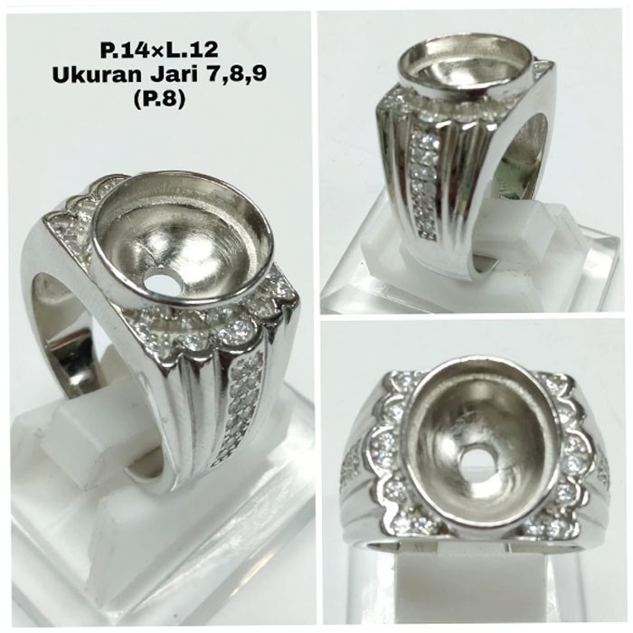 Cincin Cangkang Emban Perak 925 Silver Ring Shopee Indonesia