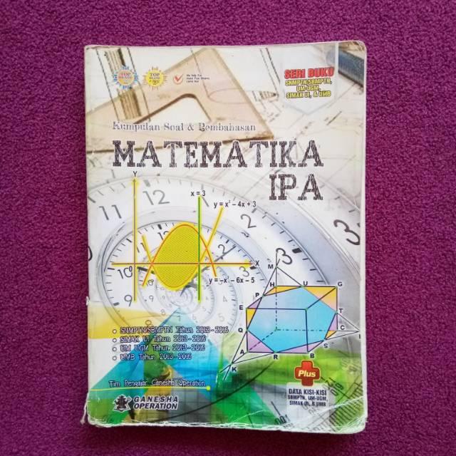 Ganesha Operation Kumpulan Soal Pembahasan Matematika Ipa Seri Buku Sbmptn Um Ugm Simak Ui Shopee Indonesia