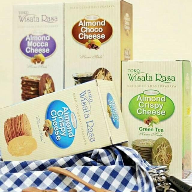 Almond Crispy Cheese Wisata Rasa Shopee Indonesia