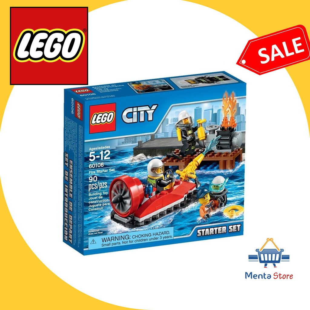 LEGO City # 60106 Fire Starter Set Api Pemadam Kebakaran Fire Fighter