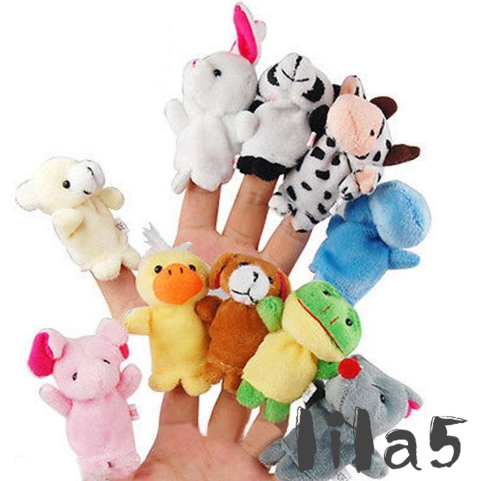 Mainan Boneka Jari Bentuk Hewan Kartun untuk Anak Laki-laki   Perempuan b90c7f1bf0