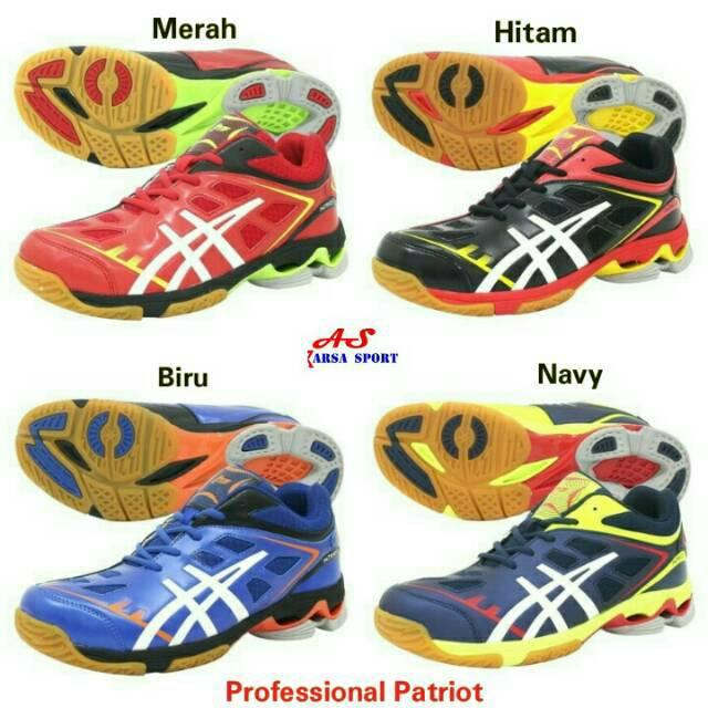 Sepatu Profesional Racer Sepatu Professional Sepatu Runing Joging Voli  45314b7441