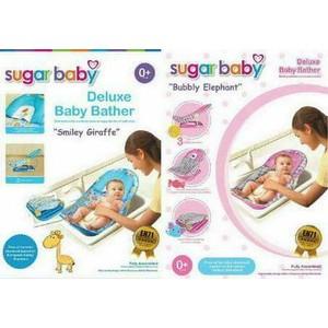 DISKON SUGAR BABY DELUXE BABY BATHER \U002F KURSI MANDI BAYI SUGAR BABY\U002F HIJAU | Shopee Indonesia