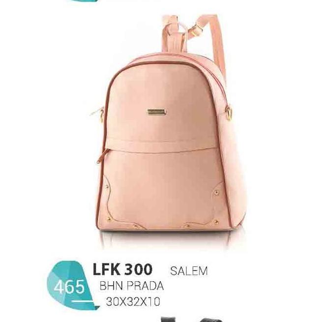 Tas Backpack Casual Wanita Bahan Prada Warna LFK 300 Merek Blackkelly  Bandung eea26e568d