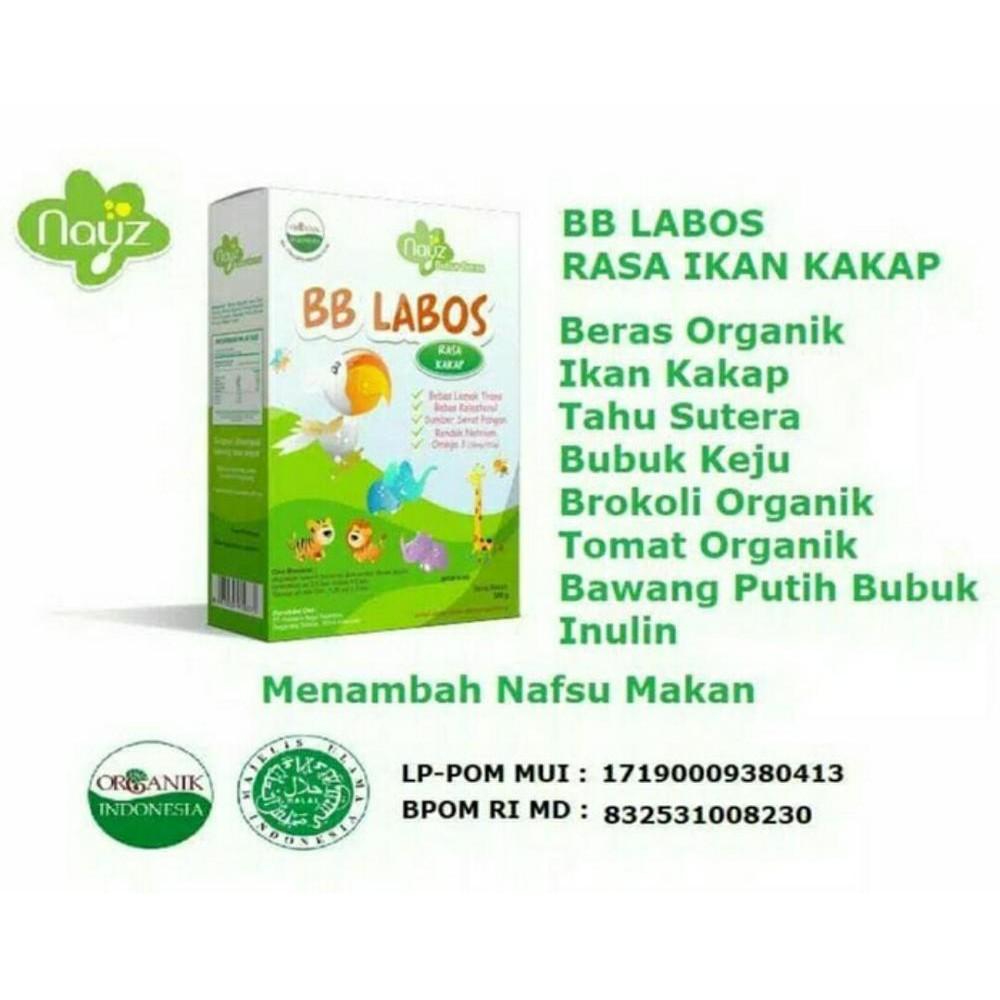 Nayz Bubur Beras Bayi Organik Puding Susu Salmon Tuna Kakap Shopee Tim 300gr Indonesia