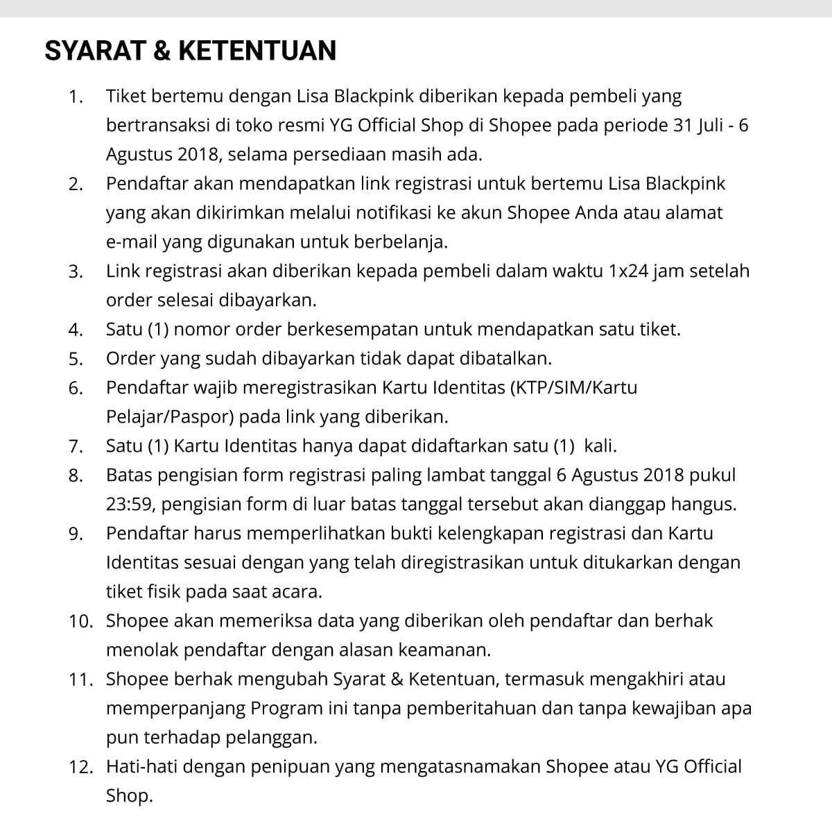 Cara Dapatkan Tiket Meet Greet Lisa Blackpink Di Jakarta Simak