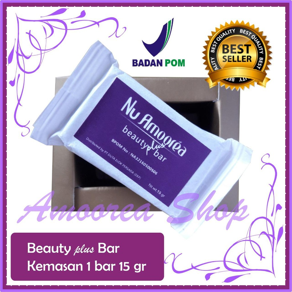 Termurah Sabun Nu Amoorea Beauty Plus Bar Stemcell 15 Gram Amorea Original Shopee Indonesia