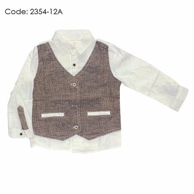 436cdac0e Mainan Setelan Kemeja Lengan Panjang+Celana Motif Leopard untuk ...