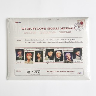 Onf We Must Love Poster