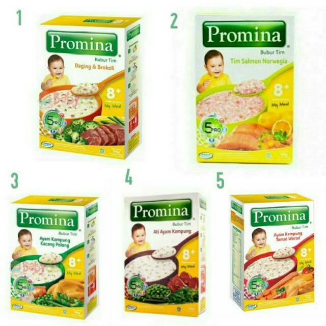 Promina Bubur Bayi 8 100 Gr Shopee Indonesia