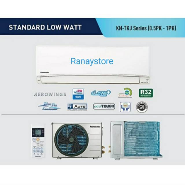 AC 1/2 PK PANASONIC KN5TKJ LOW WATT SERIES