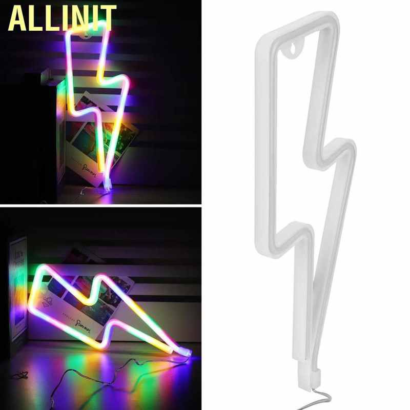 Allinit Innovative Led Neon Light Decorative Sign Wall Decor For Christmas Birthday Party Living Room Shopee Indonesia