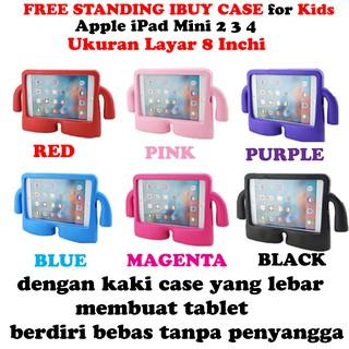 iPad 2 3 4 iPad Mini 2 3 4 iPad Pro 9.7 Air 1 2 Ibuy Shockproof Foam free standing Case Cover