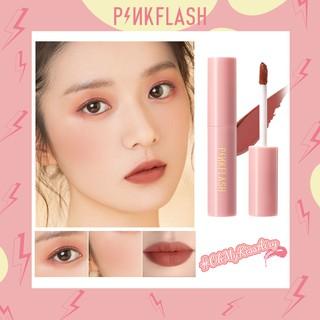 PINKFLASH Ohmykisairy Kiss Lipstick Cair Matte Anti Air Fungsi Ganda thumbnail