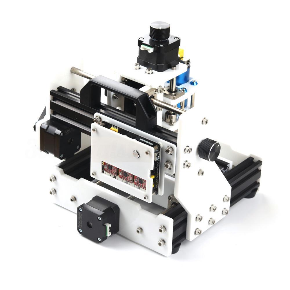 ♥flyworld♥ Triaxial Desktop DIY CNC Micro Engraving Machine Assembling Kits